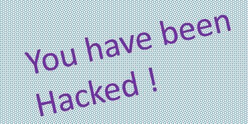 Has your account been hacked?